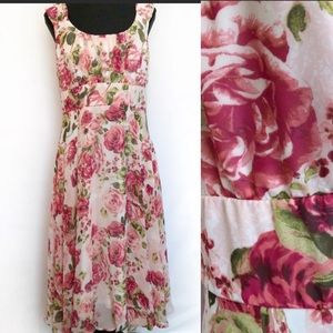 Floral Dress for that special event! Size 10.